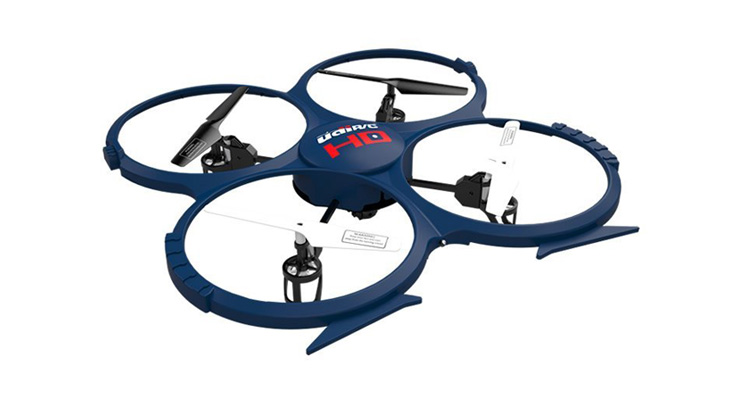 3D Quadrocopter UDI U818A – RC