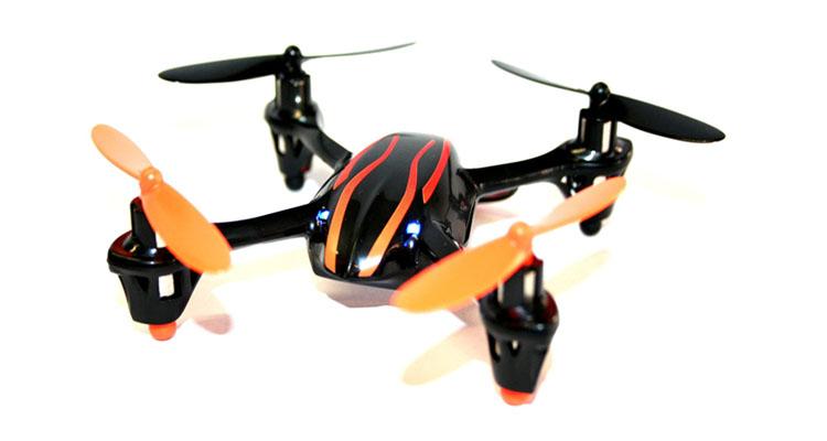 Indoor Quadrocopter mit 3 Flugmodi