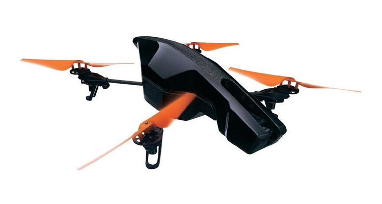 Iphone Quadrocopter: AR.Drone 2.0 Power Edition
