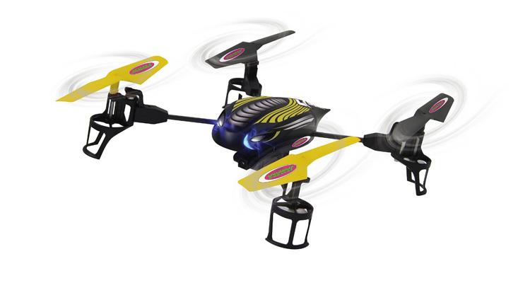 Jamara Quadrocopter Q-Drohne mit Kamera