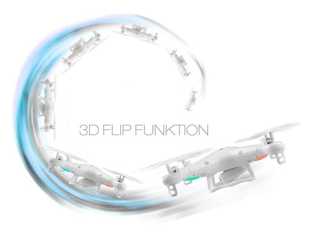 3D Flip-Funktion