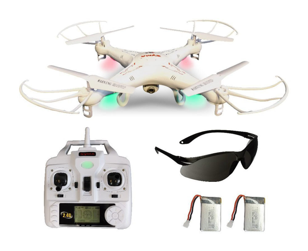 Lieferumfang Quadrocopter X5C