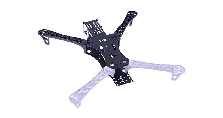 Quadrocopter Frame für GoPro