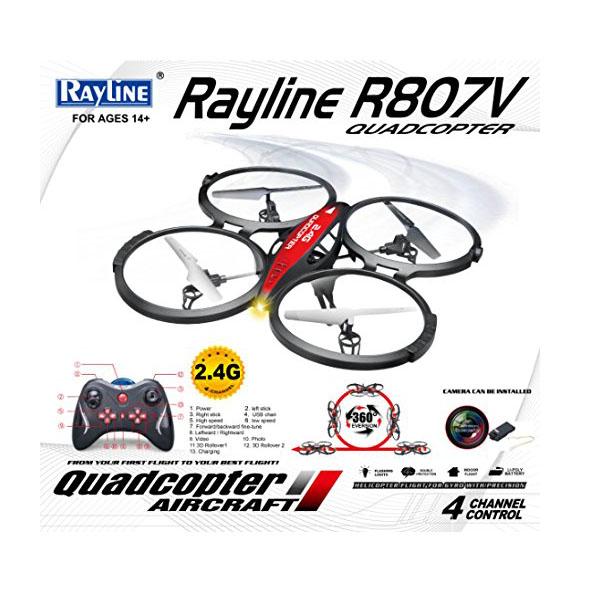 Quadrocopter mit HD Kamera - Verpackung