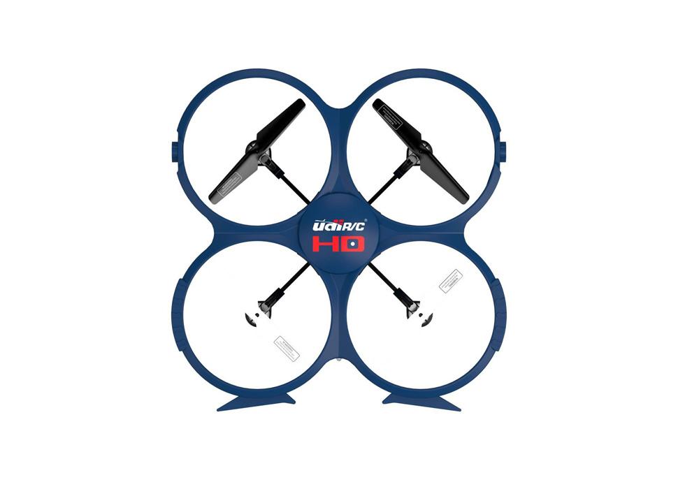 3D Quadrocopter von oben