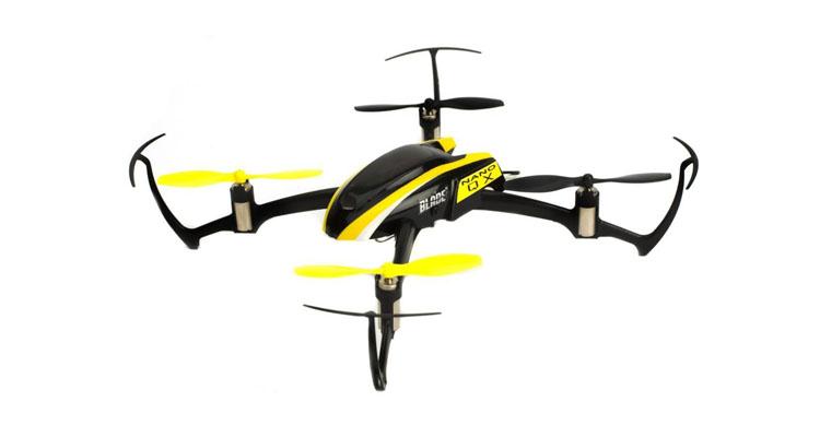 Blade Quadrocopter Nano QX BNF mit futuristischem Design