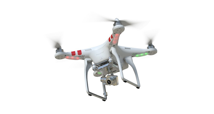 DJI Phantom 2 Vision Quadrocopter GPS