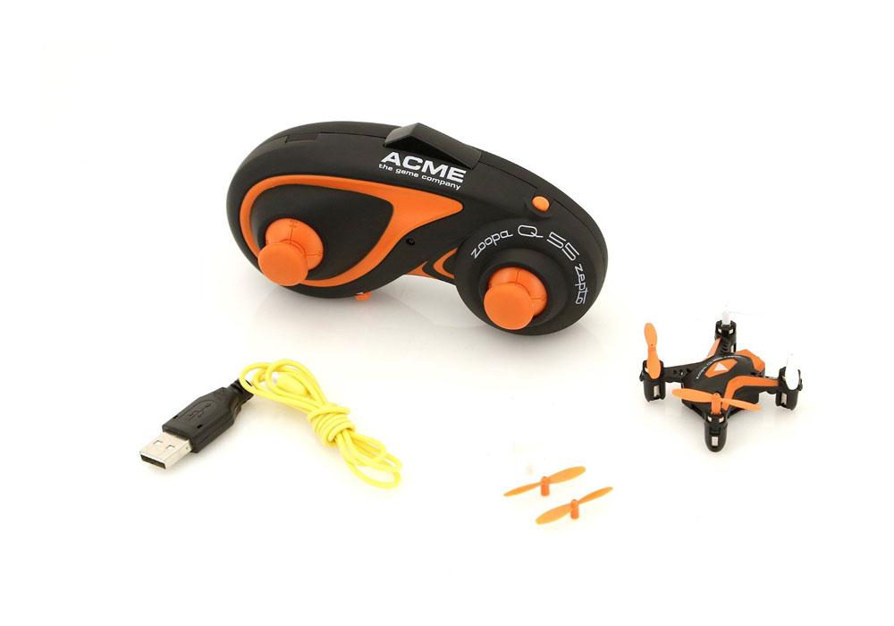 Mini Quadrocopter Lieferumfang