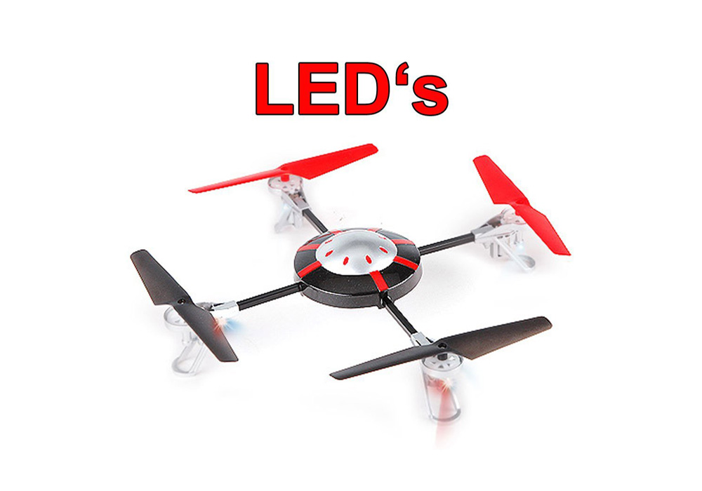 Quadrocopter 998 V2 LED´s