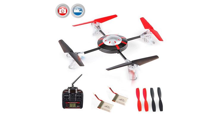 Quadrocopter 998 V2 – Vergleich