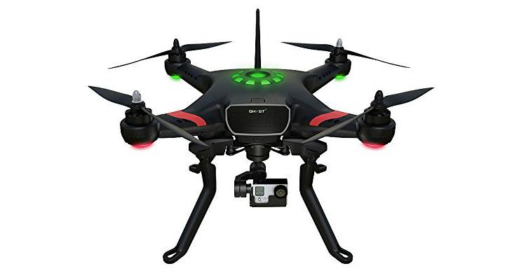 Quadrocopter Ghost von TTRobotix mit 3D-Gimbal