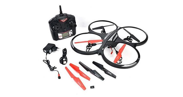 Der s-idee Quadrocopter mit Kamera