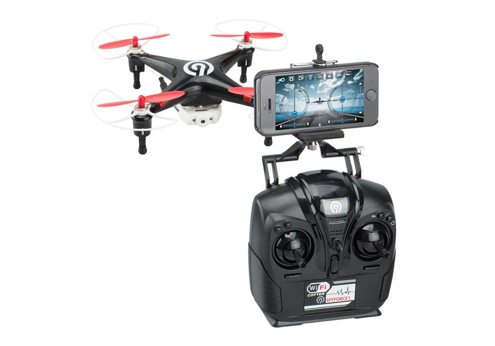 Android Quadrocopter Ninetec Spyforce1