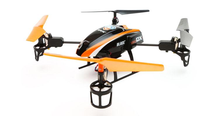 Quadrocopter Blade 180 QX mit 3 Flugmodi