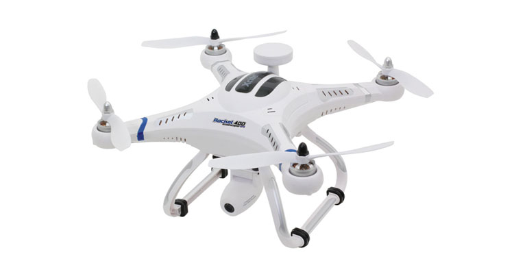 Quadrocopter mit GPS – XciteRC Rocket 400 inkl. Kamera
