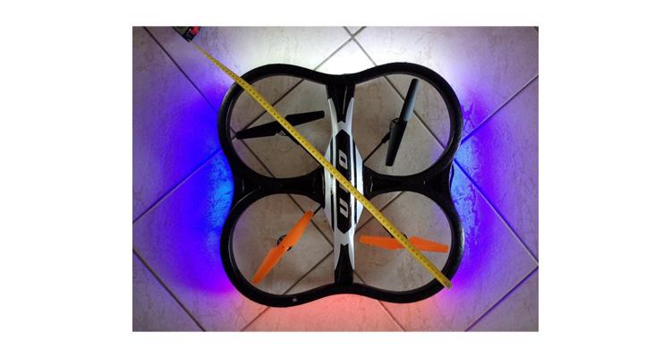 XXL Quadrocopter Xinxun X30V mit Kamera