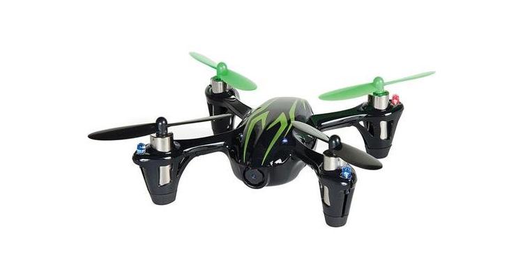 Hubsan X4 H107C mit 0.3 MP Drohne mit Kamera