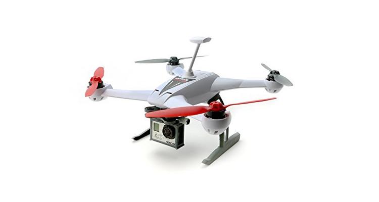 Blade 350 QX3 BNF mit GoPro kompatibler Kamerahalterung