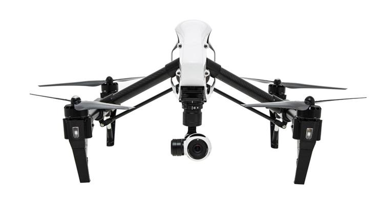DJI Inspire 1 – Premiumcopter mit 4K Videokamera von Sony
