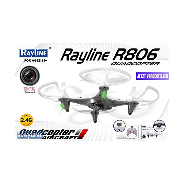 Rayline R806 Verpackung