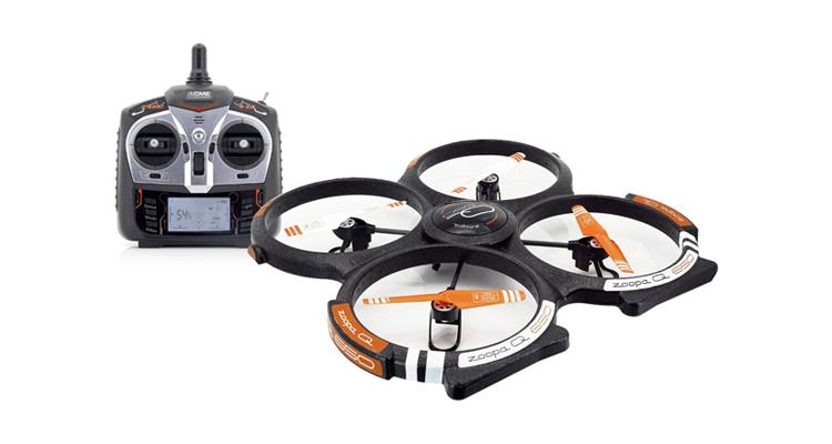 ACME Zoopa Q 650 mit GoPro Verwendung