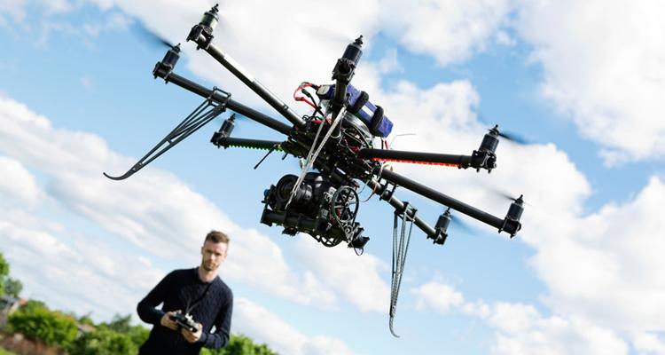 8 interessante Einsatzgebiete von Drohnen