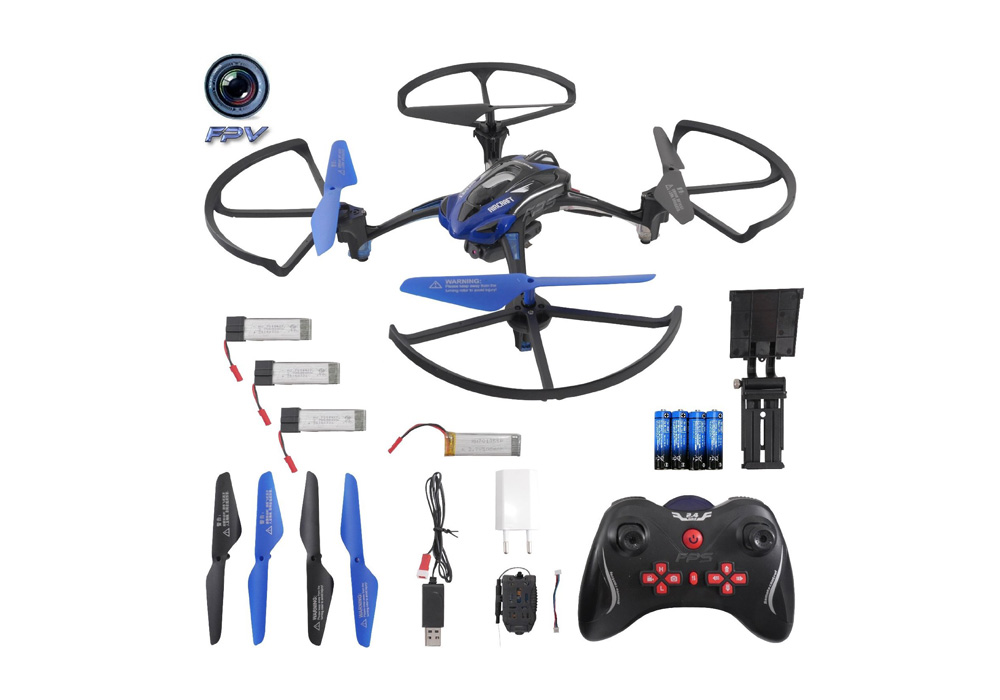 rayline r8 quadrocopter mit kamera test video 360. Black Bedroom Furniture Sets. Home Design Ideas