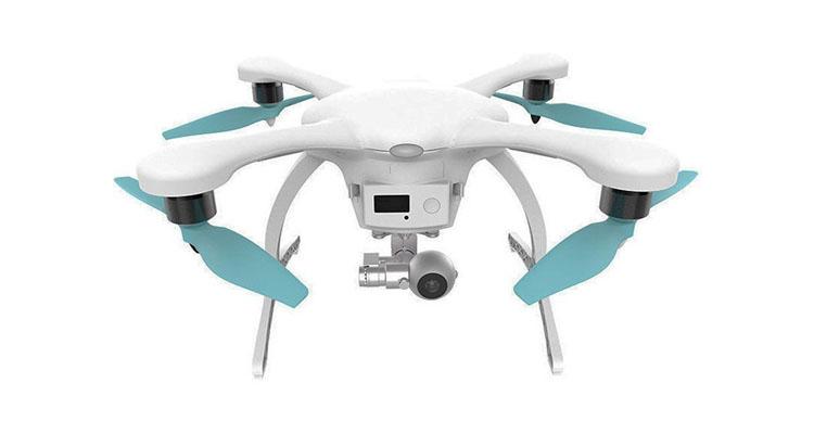 GHOST Drone 2.0 mit nach unten positionierten Motoren