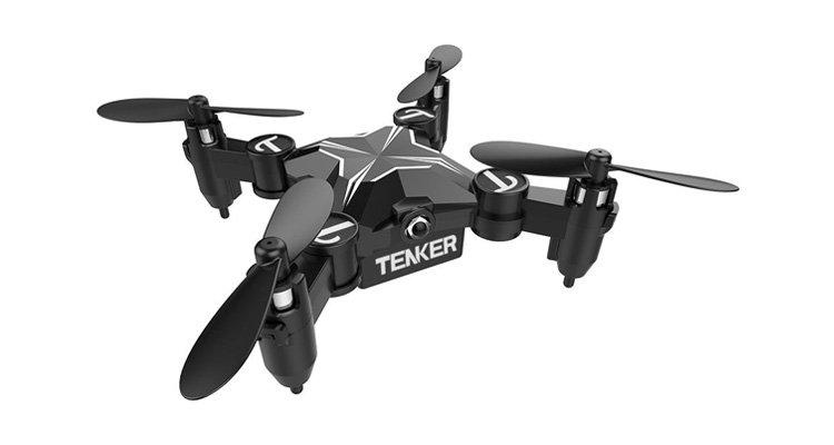 Tenker Skyracer – Klappbahre Minidrone